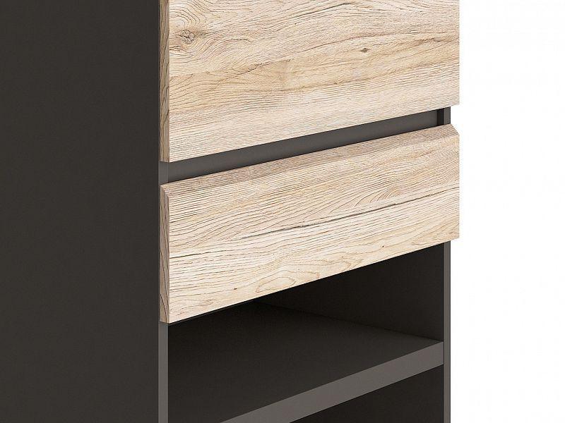 p kn reg l moden brw reg1d3s 60 ed wolfram dub san remo sv tl v robce black red white. Black Bedroom Furniture Sets. Home Design Ideas